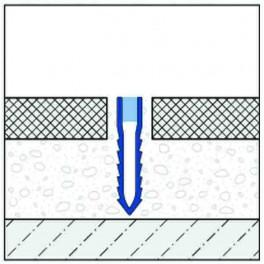 Dilatace - PVC - hloubková - šípová - 30mm