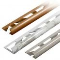 Lišta obloučková - PVC 10mm mramor