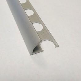 Lišta obloučková - hliník eloxovaný - stříbrný