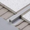 Dilatační - PVC - úzká základna - šedá