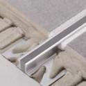 Dilatační - hliník - široká základna - šedá