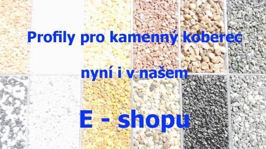 Profily pro kamenný koberec